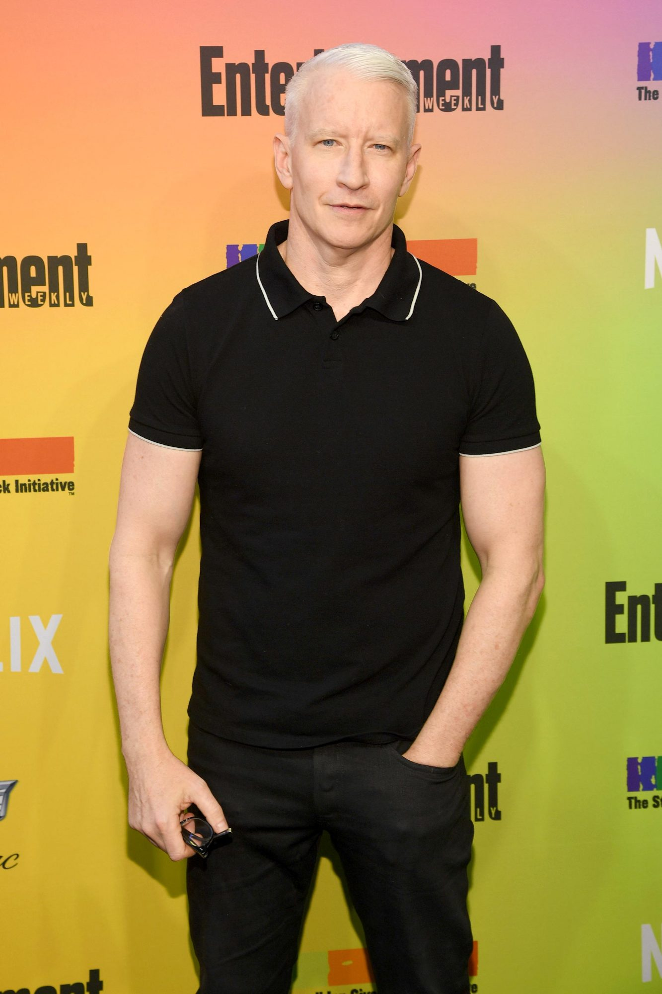 NEW YORK, NEW YORK - JUNE 05: Anderson Cooper attends as Entertainment Weekly Celebrates Its Annual LGBTQ Issue at the Stonewall Inn on June 05, 2019 in New York City. (Photo by Dimitrios Kambouris/Getty Images for Entertainment Weekly)
