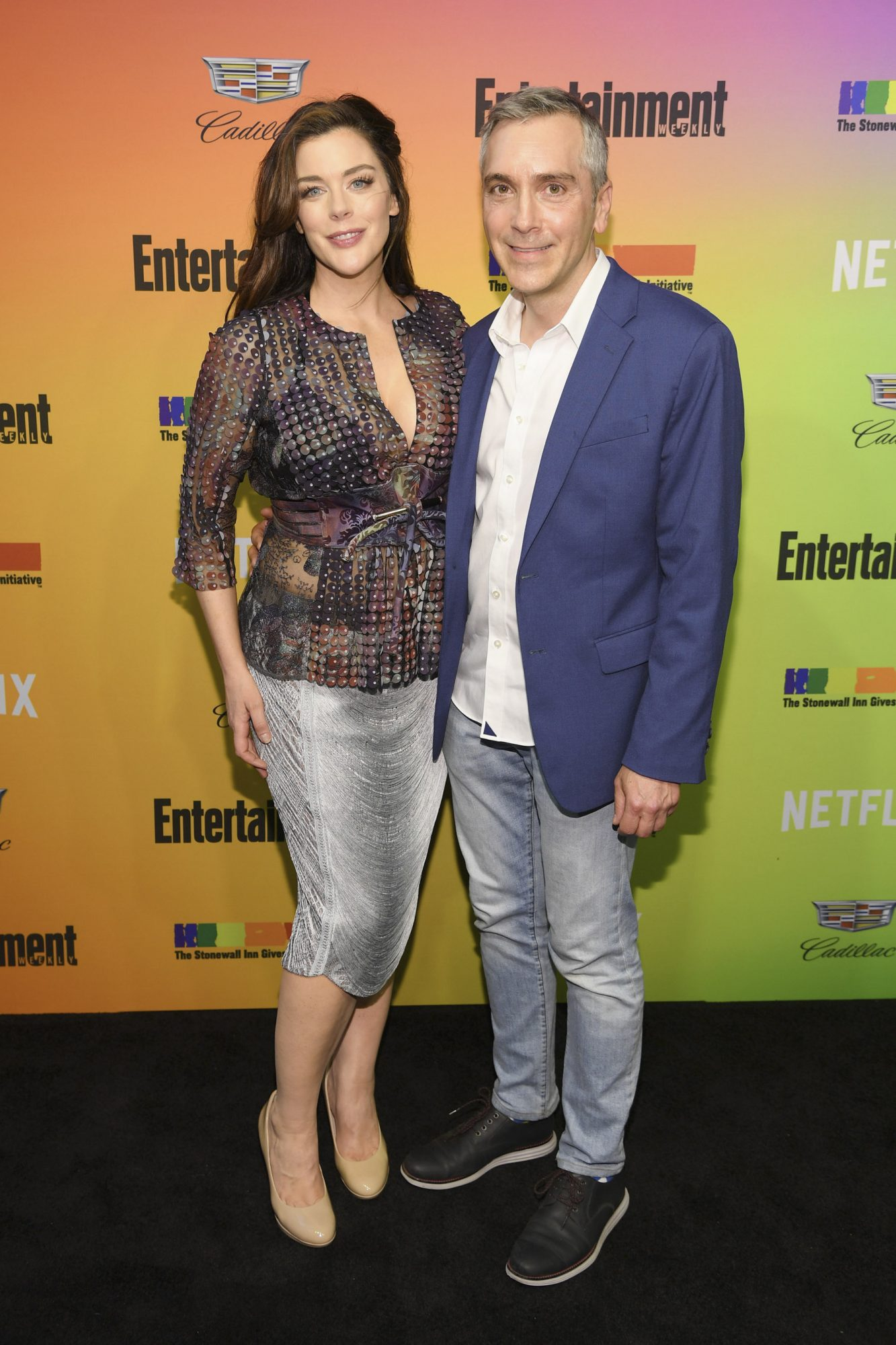 NEW YORK, NEW YORK - JUNE 05: Kim Director and Scott Lowell attend as Entertainment Weekly Celebrates Its Annual LGBTQ Issue at the Stonewall Inn on June 05, 2019 in New York City. (Photo by Dimitrios Kambouris/Getty Images for Entertainment Weekly)