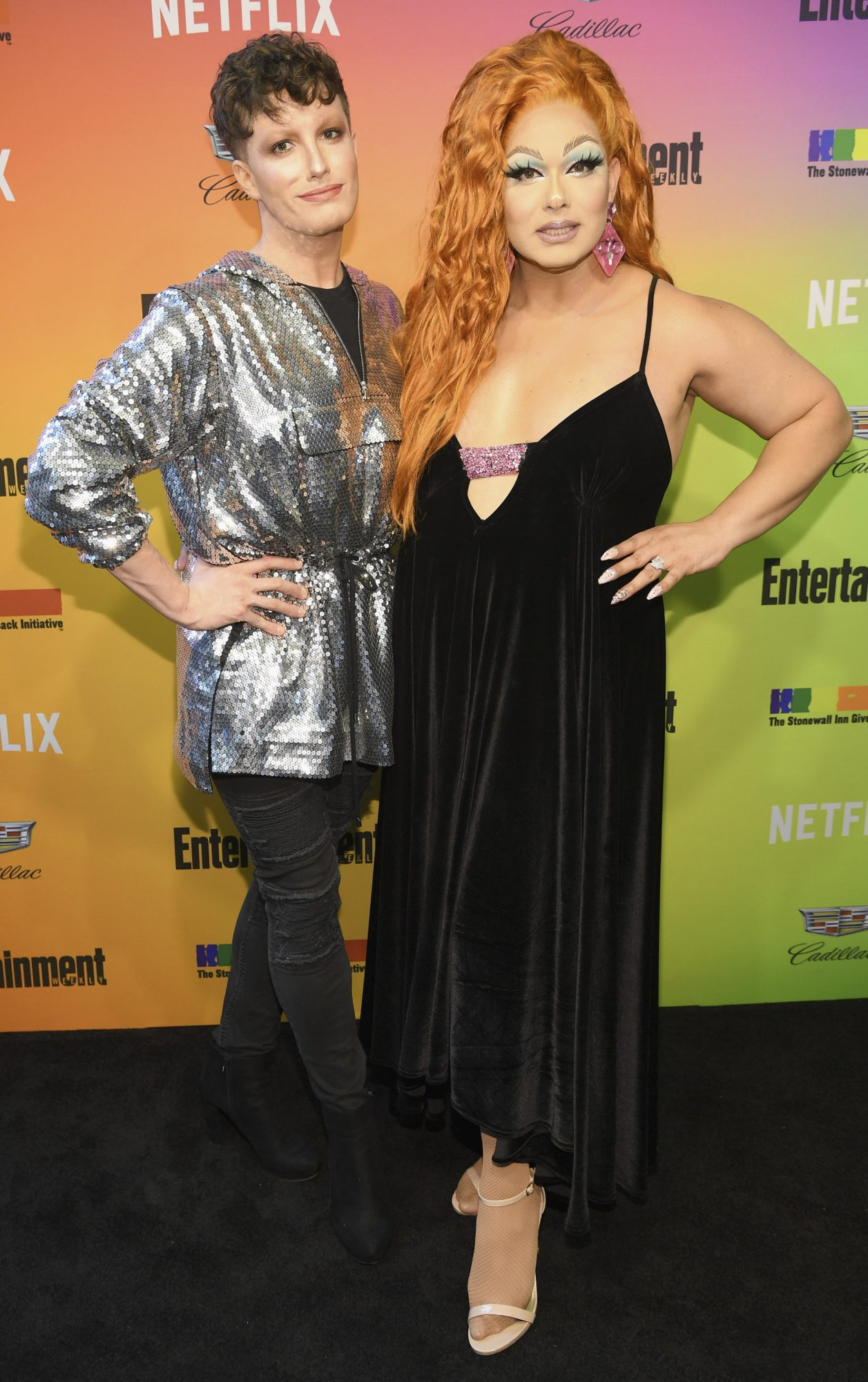 NEW YORK, NEW YORK - JUNE 05: Joe Lah and Alexis Michelle attend as Entertainment Weekly Celebrates Its Annual LGBTQ Issue at the Stonewall Inn on June 05, 2019 in New York City. (Photo by Dimitrios Kambouris/Getty Images for Entertainment Weekly)
