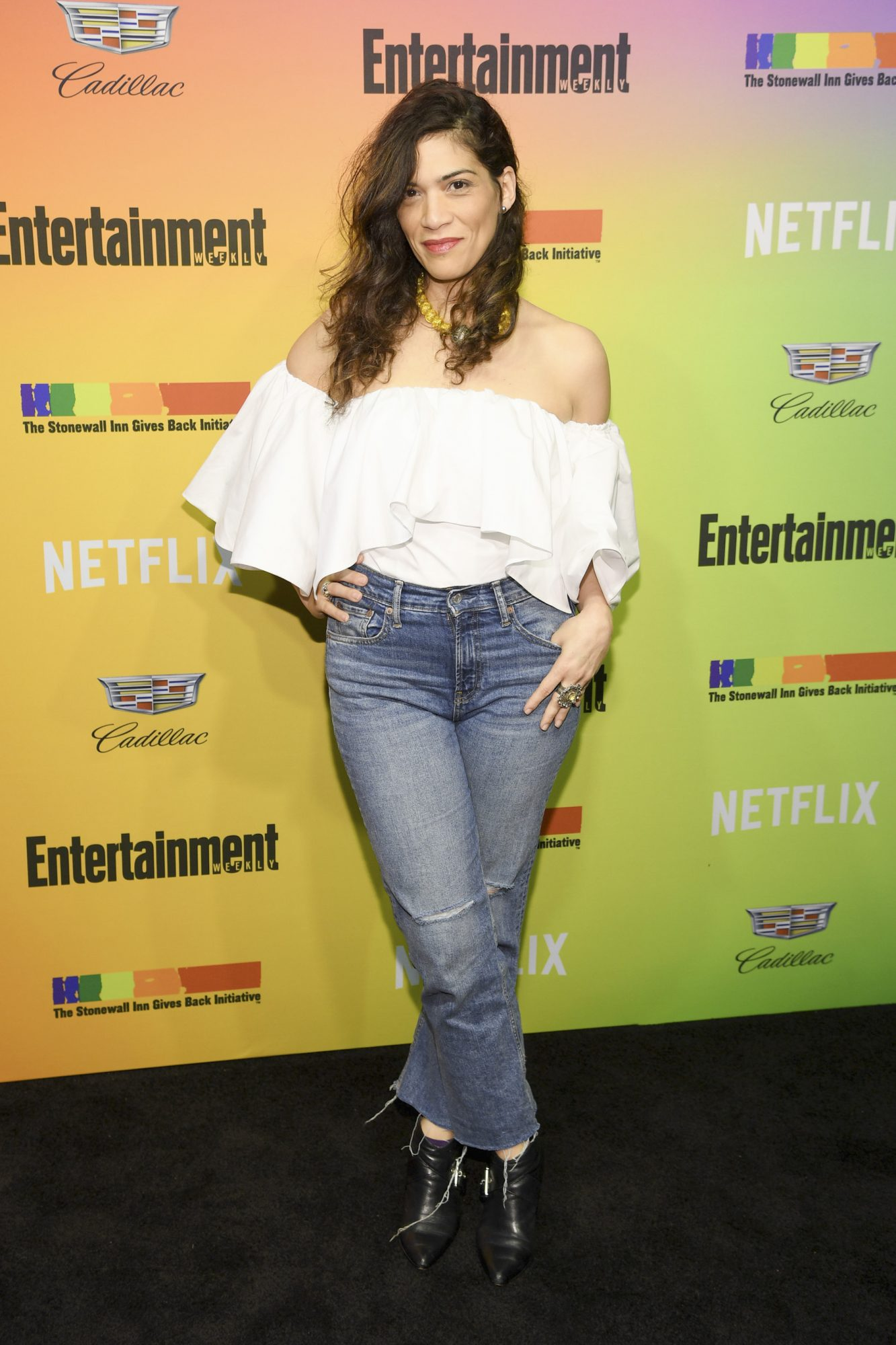 NEW YORK, NEW YORK - JUNE 05: Laura Gomez attends as Entertainment Weekly Celebrates Its Annual LGBTQ Issue at the Stonewall Inn on June 05, 2019 in New York City. (Photo by Dimitrios Kambouris/Getty Images for Entertainment Weekly)