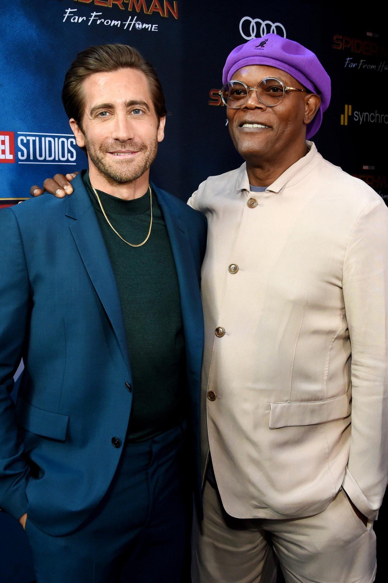 Jake Gyllenhaal and Samuel L. Jackson