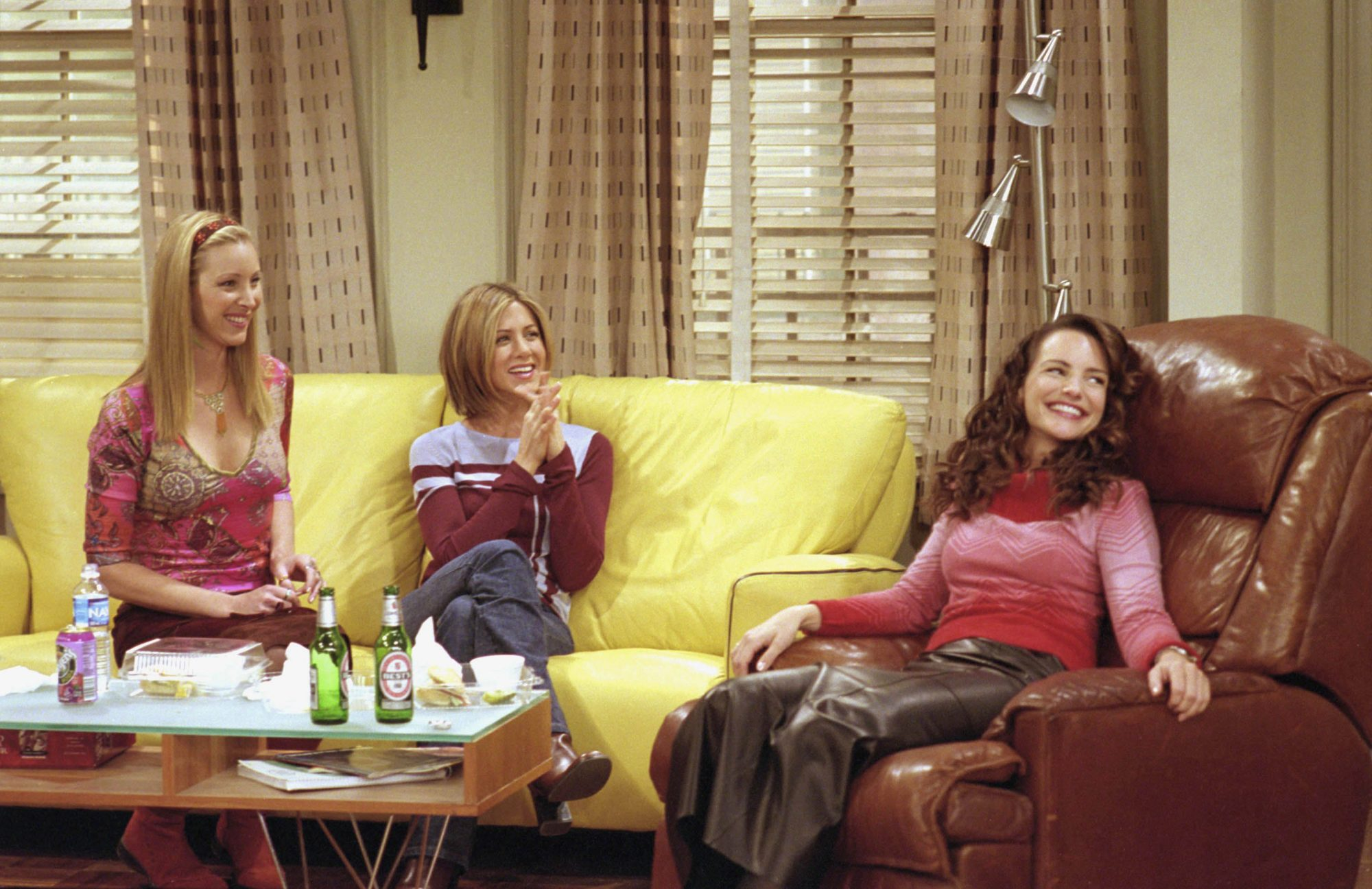 Lisa Kudrow, Rachel Green, Kristin Davis