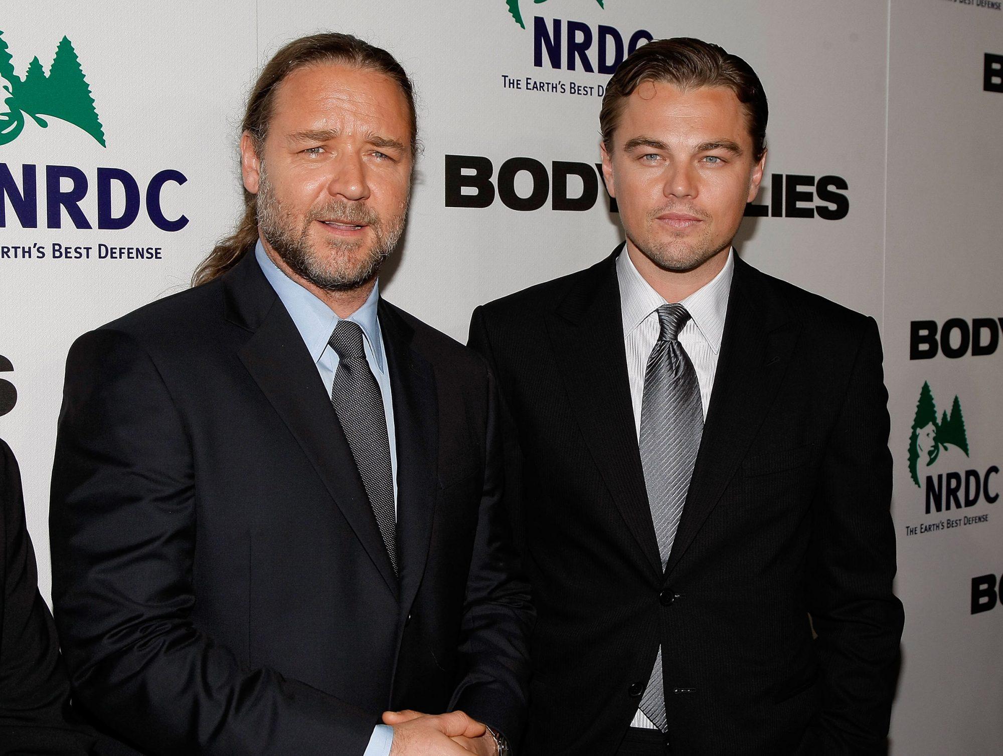 Russell Crowe Leonardo DiCaprio