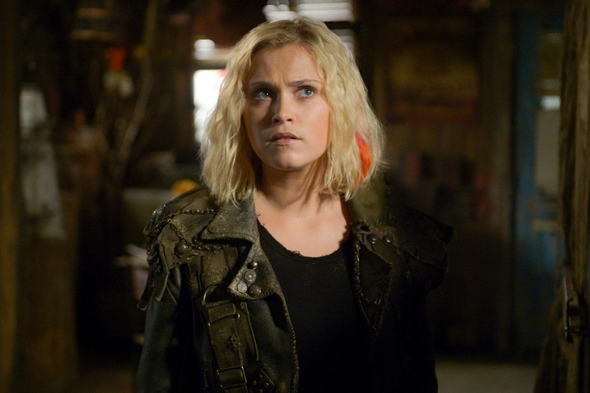 "The 100 -- ""Nevermind"" -- Image Number: HU607b_0745b.jpg -- Pictured: Eliza Taylor as Clarke -- Photo: Sergei Bachlakov/The CW -- © 2019 The CW Network, LLC. All rights reserved."