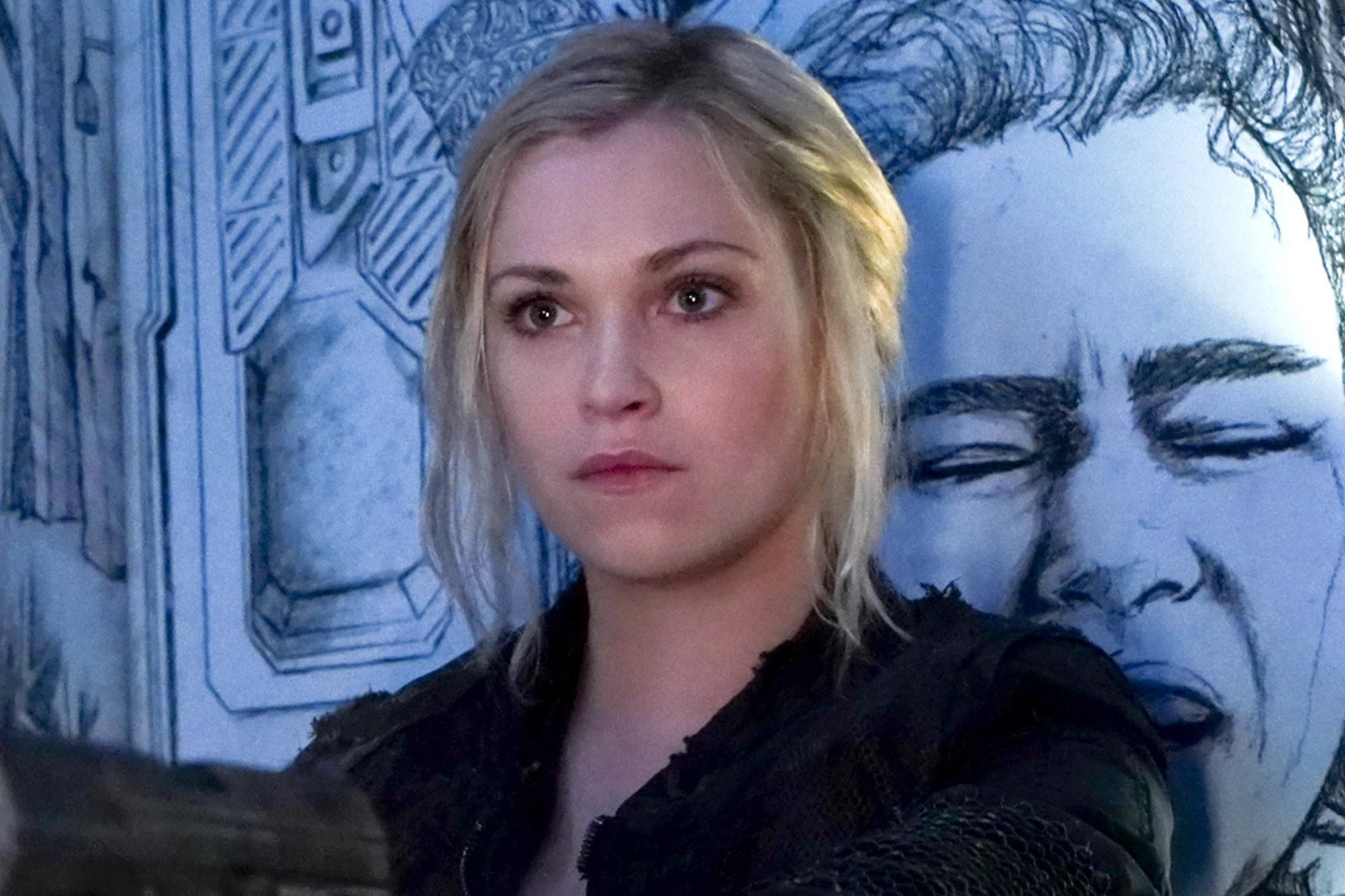 "The 100 -- ""The Old Man and the Anomaly"" -- Image Number: HU608a_0004r.jpg -- Pictured: Eliza Taylor as Clarke -- Photo: Shane Harvey/The CW -- © 2019 The CW Network, LLC. All rights reserved."