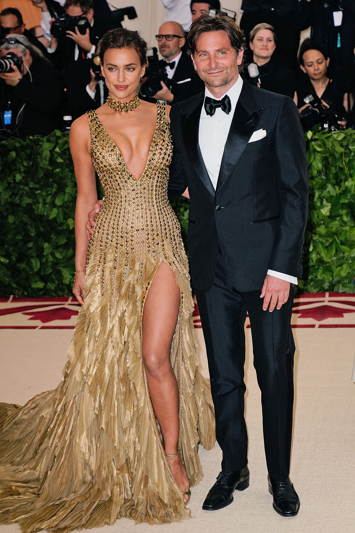 Irina Shayk and Bradley Cooper
