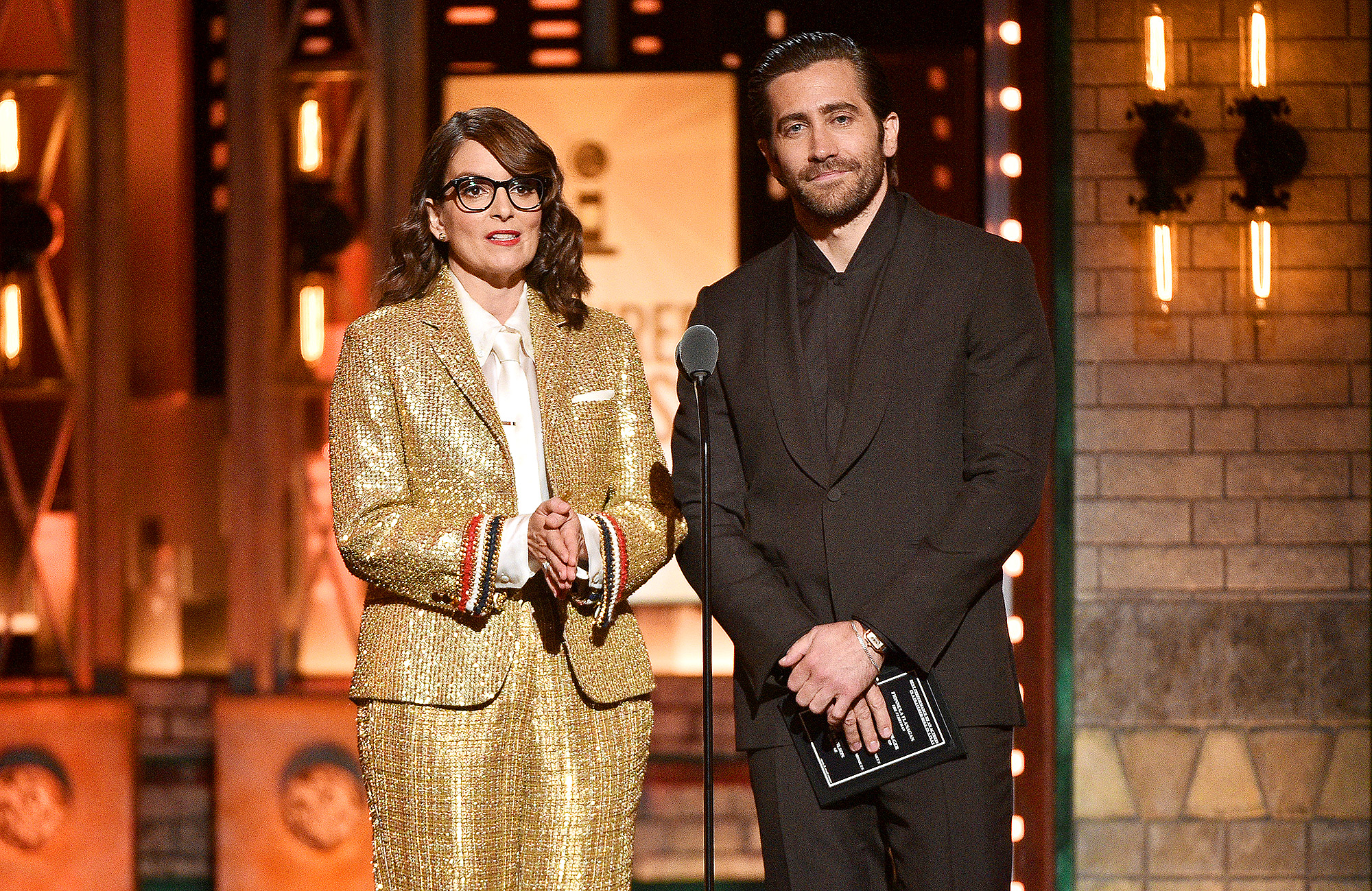 Tina Fey and Jake Gyllenhaa