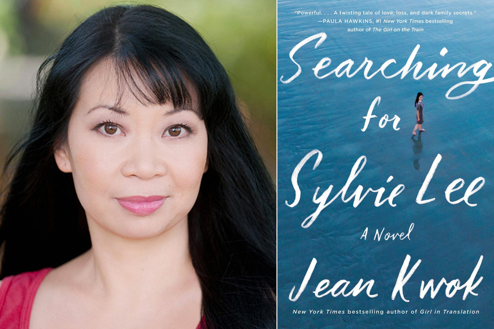 Jean Kwok author photo CR: Chris Macke Searching for Sylvie Lee by Jean Kwok CR: HarperCollins