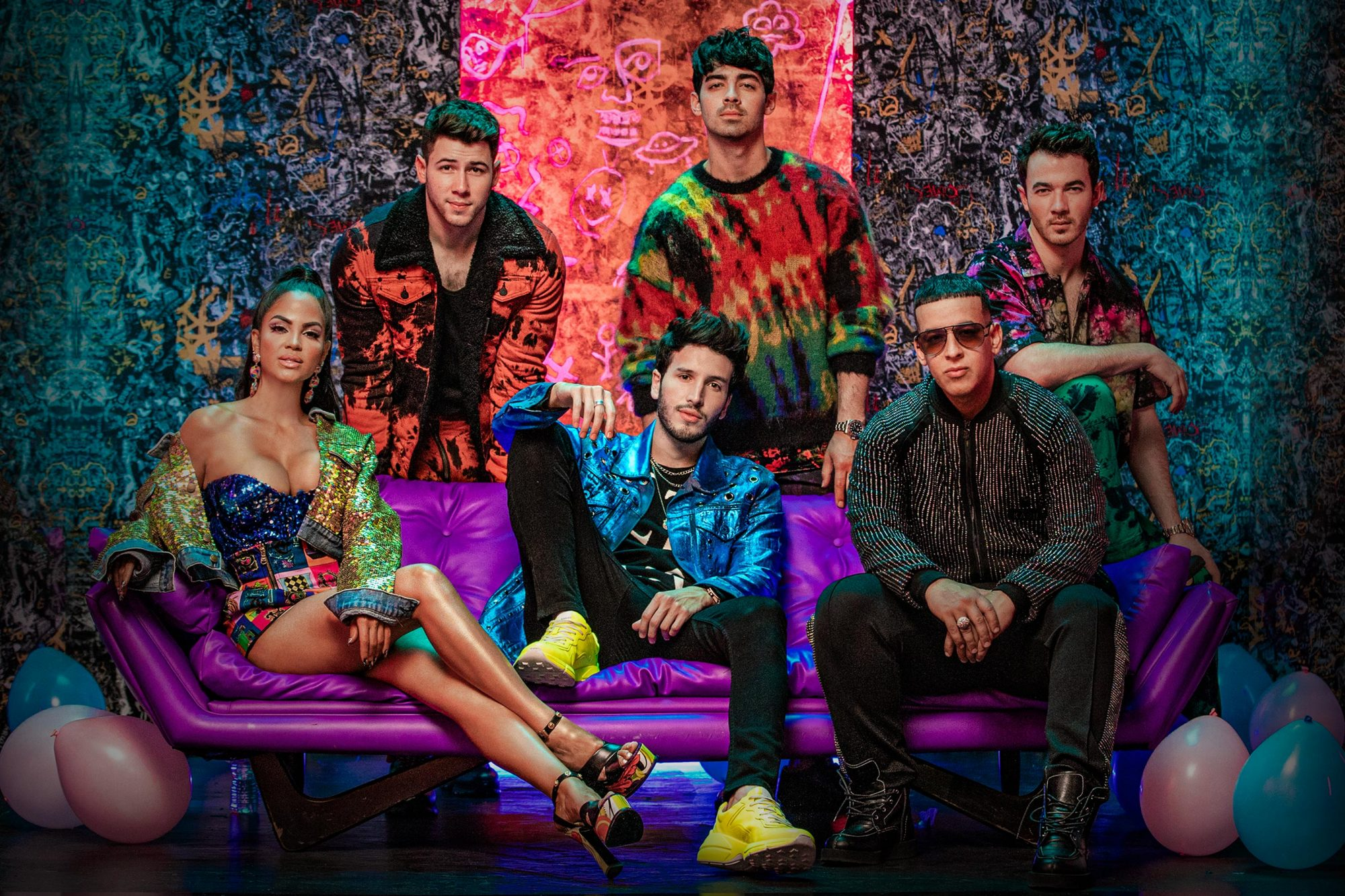 Natti Natasha, The Jonas Brothers, Sebastian Yatra and Daddy Yankee