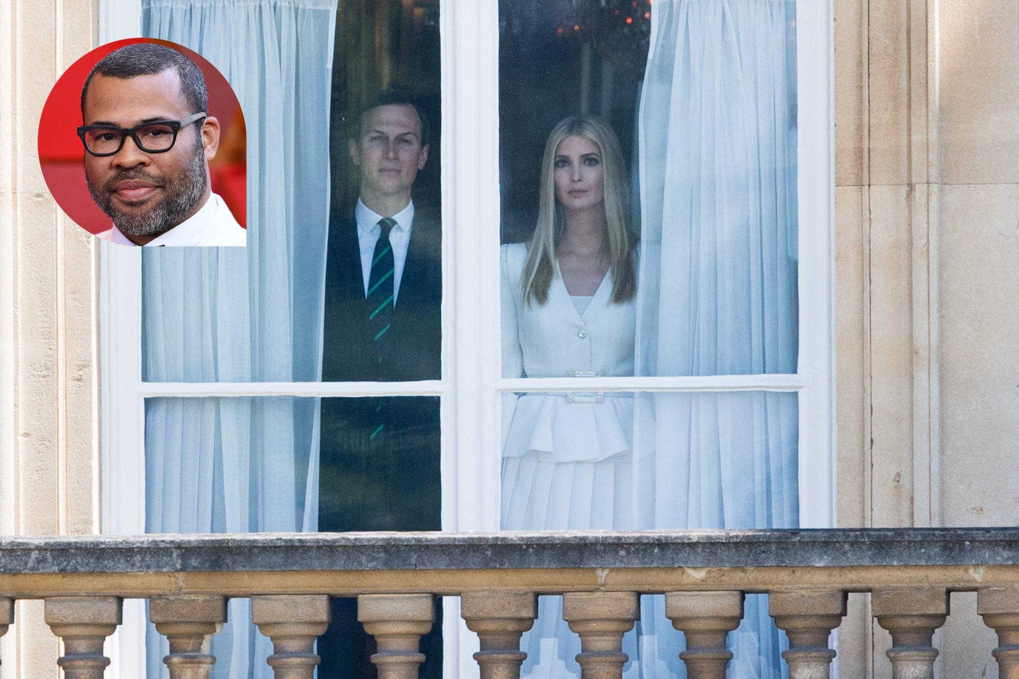 Jared Kushner, Ivanka Trump, Jordan Peele
