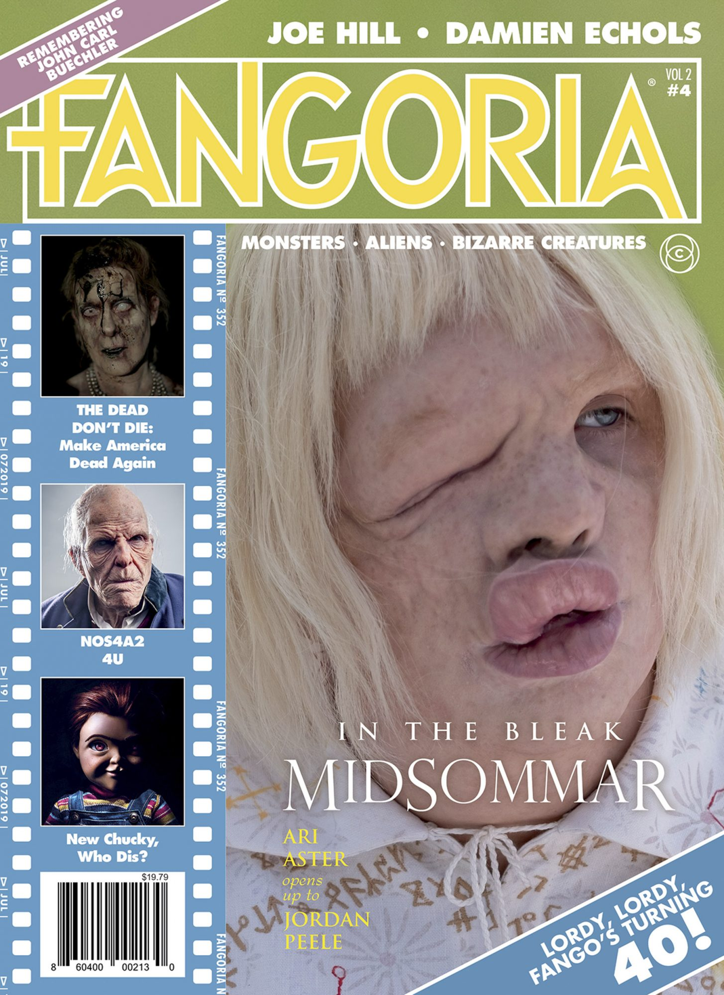 Fangoria July 2019 cover CR: Fangoria