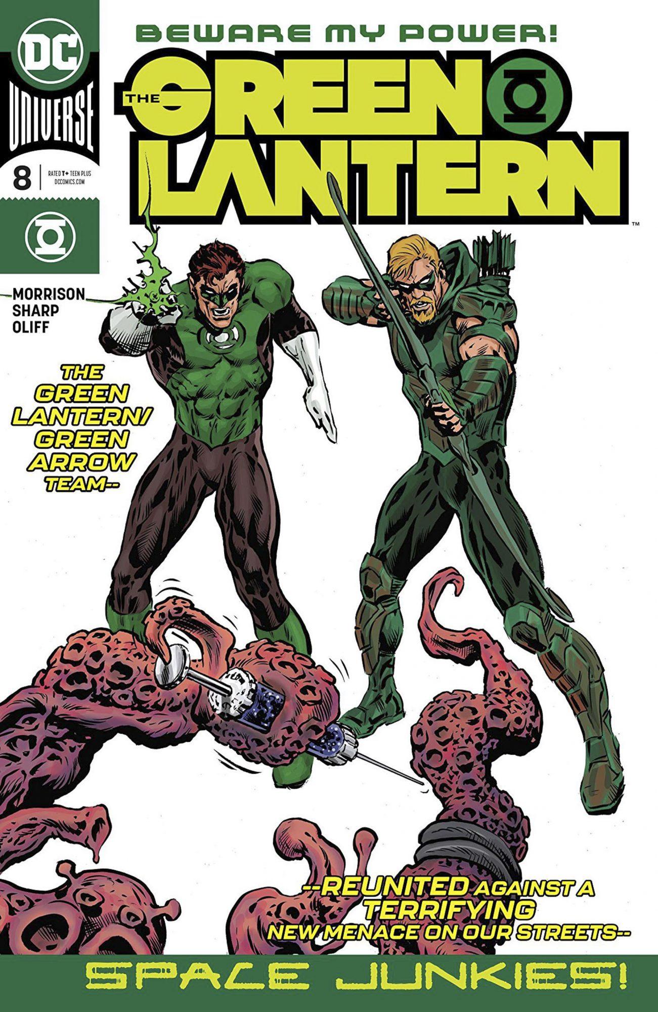 The Green Lantern (2018-) #8 CR: DC