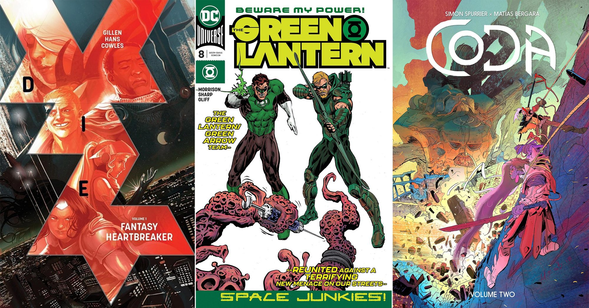 June Comics tout Die volume 1: Fantasy Heartbreaker CR: Image Comics Green Lantern (2018) #8 Coda Vol. 2