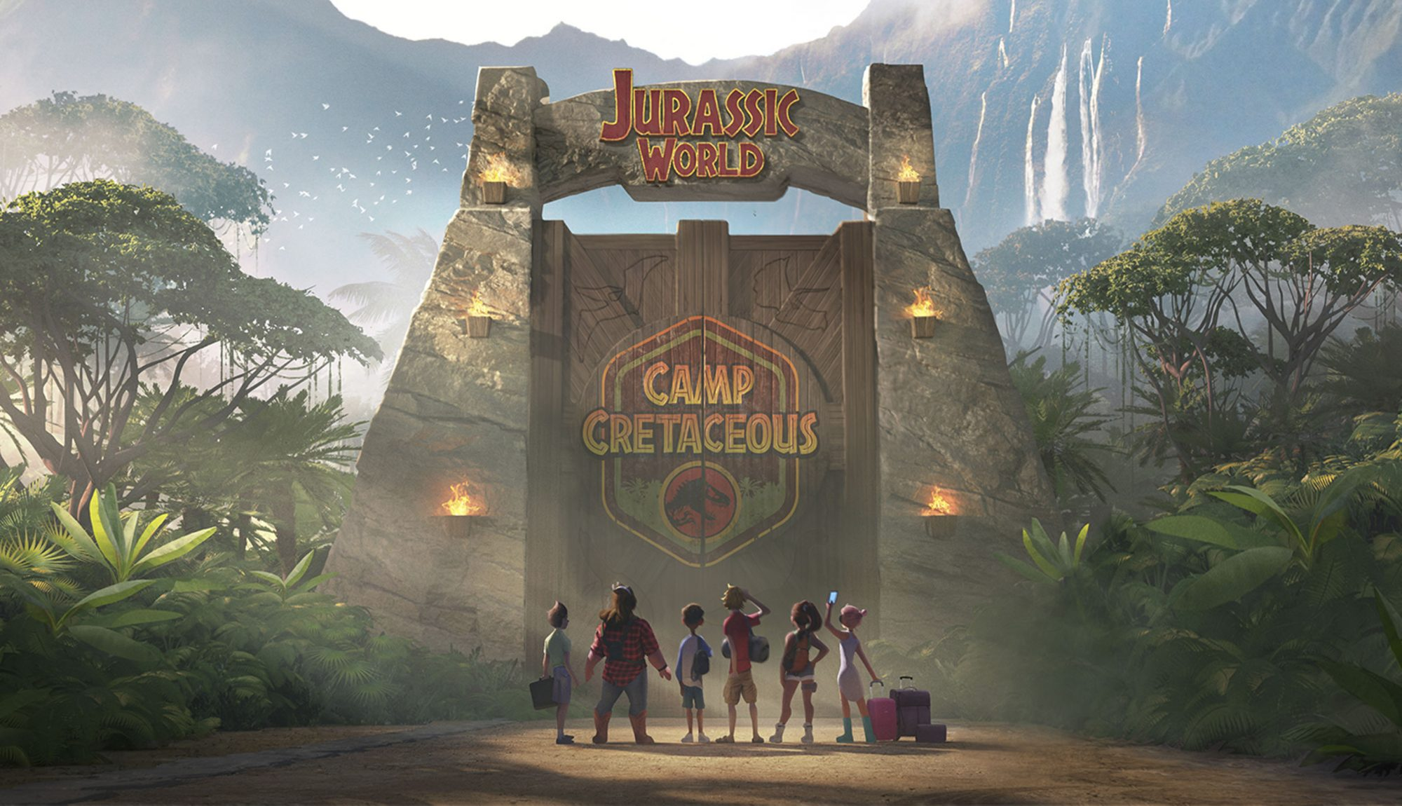 Jurassic World Camp Cretaceous CR: Netflix