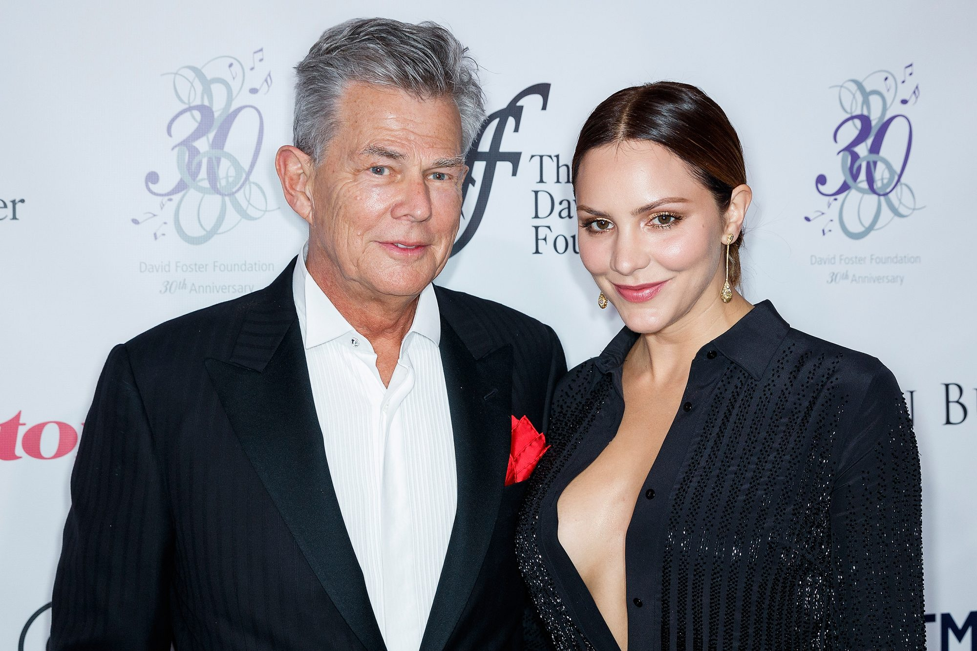 Katharine Mcphee And David Foster Expecting First Child Together Ew Com