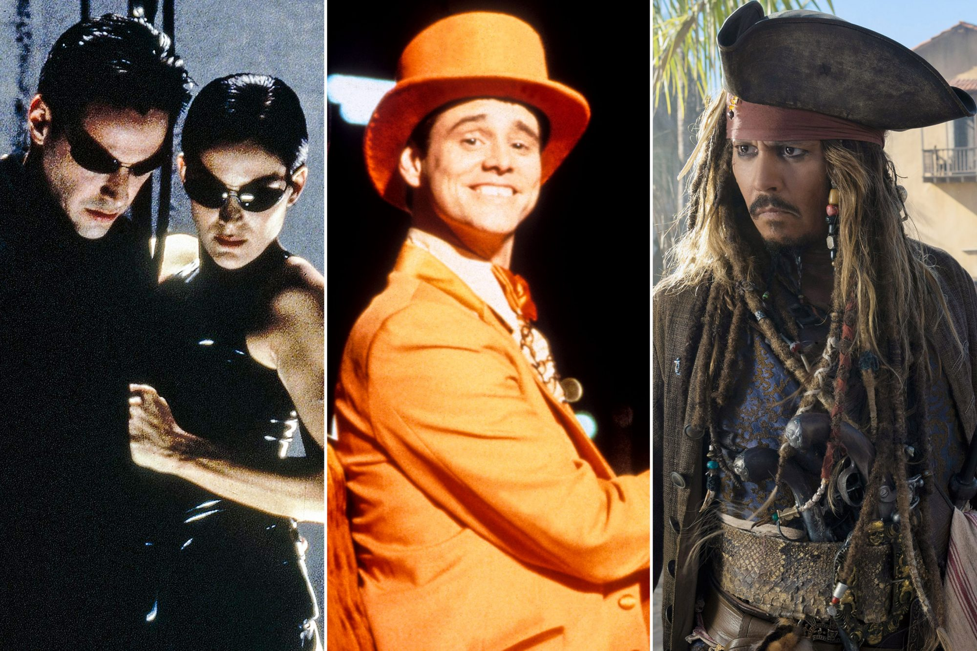 The Matrix; Dumb and Dumber; PIRATES OF THE CARIBBEAN: DEAD MEN TELL NO TALES,