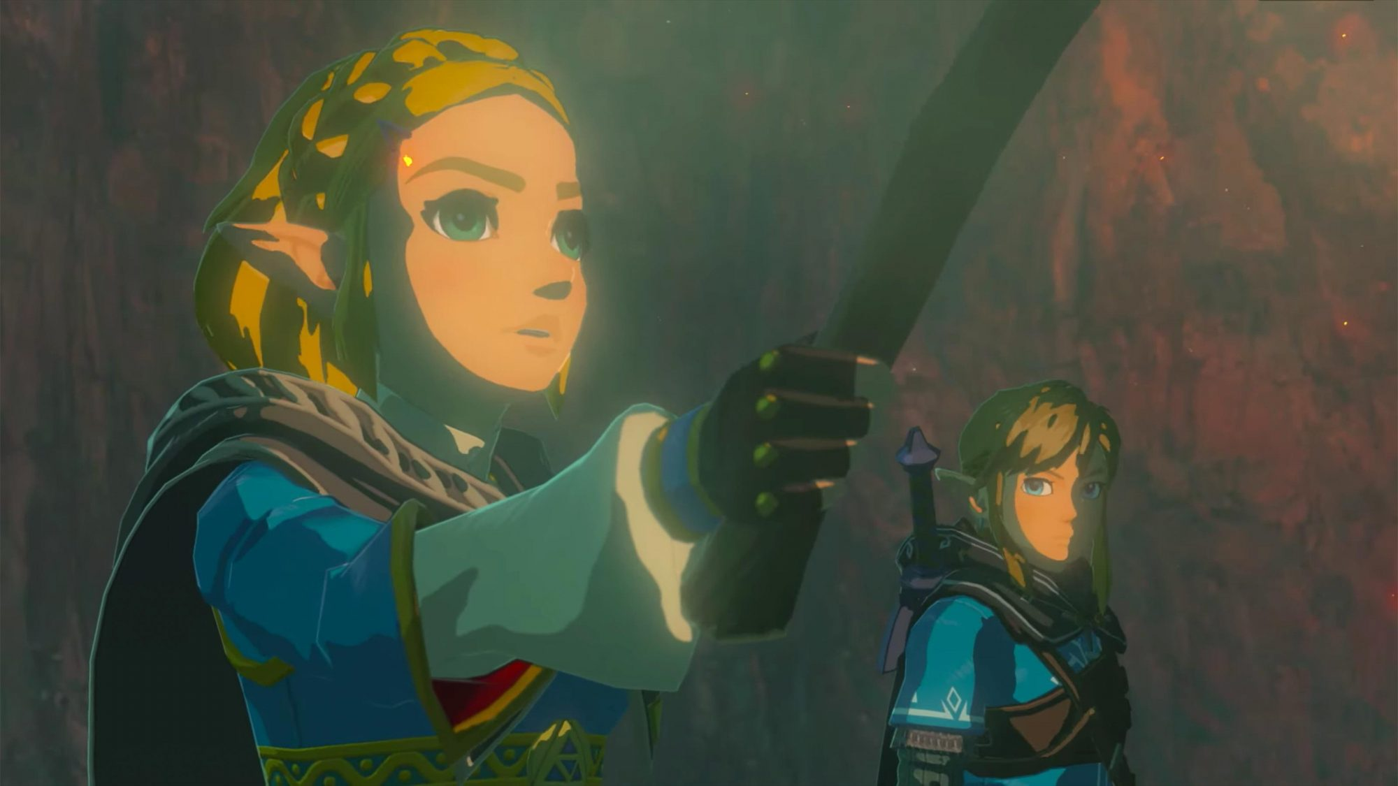 Sequel to The Legend of Zelda: Breath of the Wild - First Look Trailer (screen grab) https://www.youtube.com/watch?v=3fr1Z07AV00 CR: Nintendo