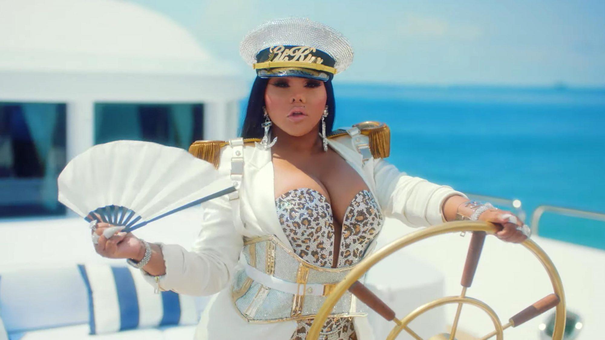 """Girls Cruise"" Premieres July 15th at 9PM ET/PT Lil Kim (screen grab) https://www.youtube.com/watch?v=xbx3pWAk7ZA CR: VH1"