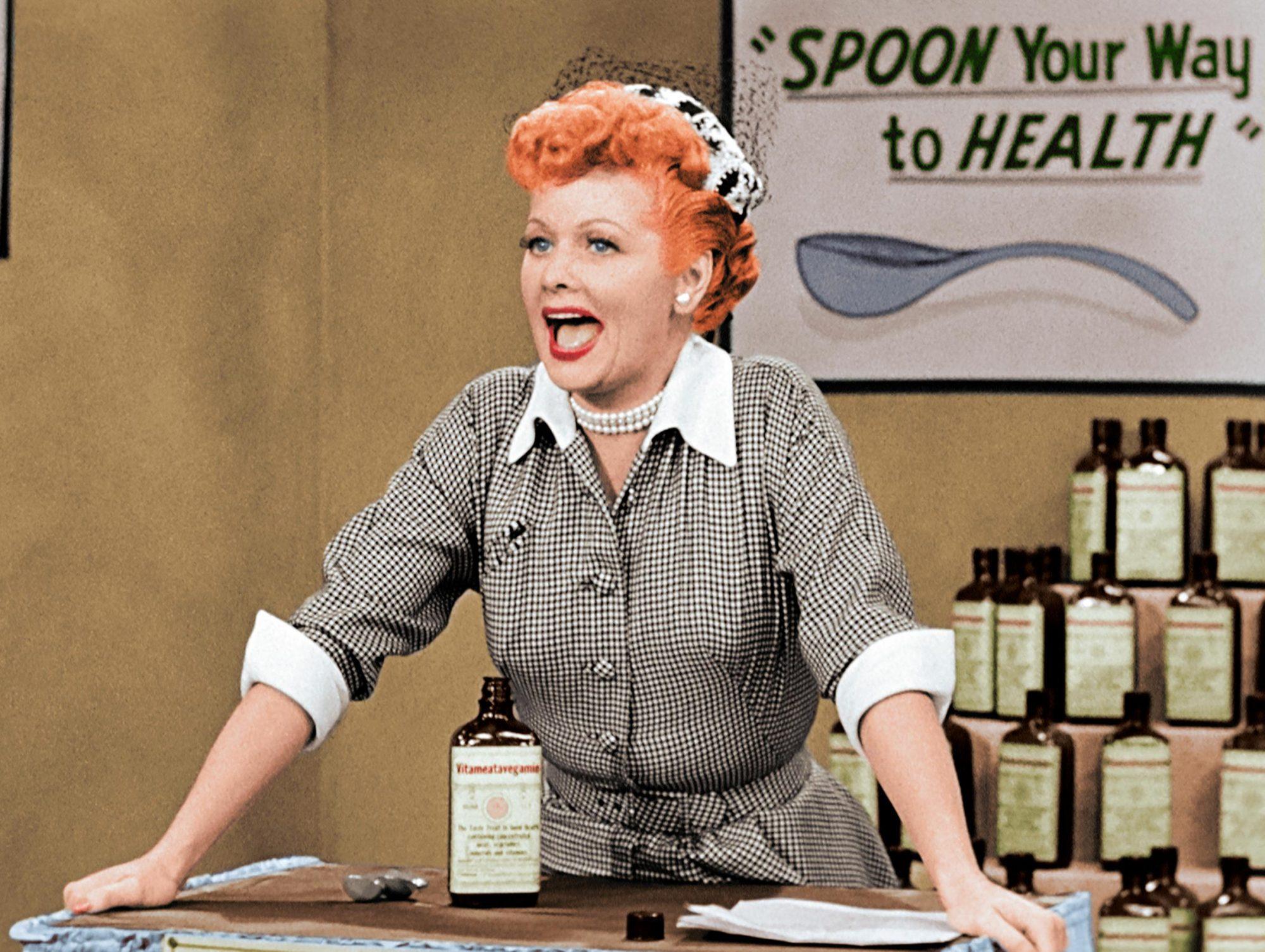 I Love Lucy 'Vitameatavegamin' episode CR: Fathom Events/CBS Home Entertainment