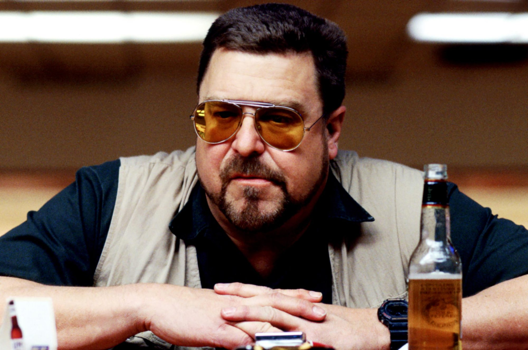 THE BIG LEBOWSKI, John Goodman, 1998, (c) Gramercy Pictures/courtesy Everett Collection