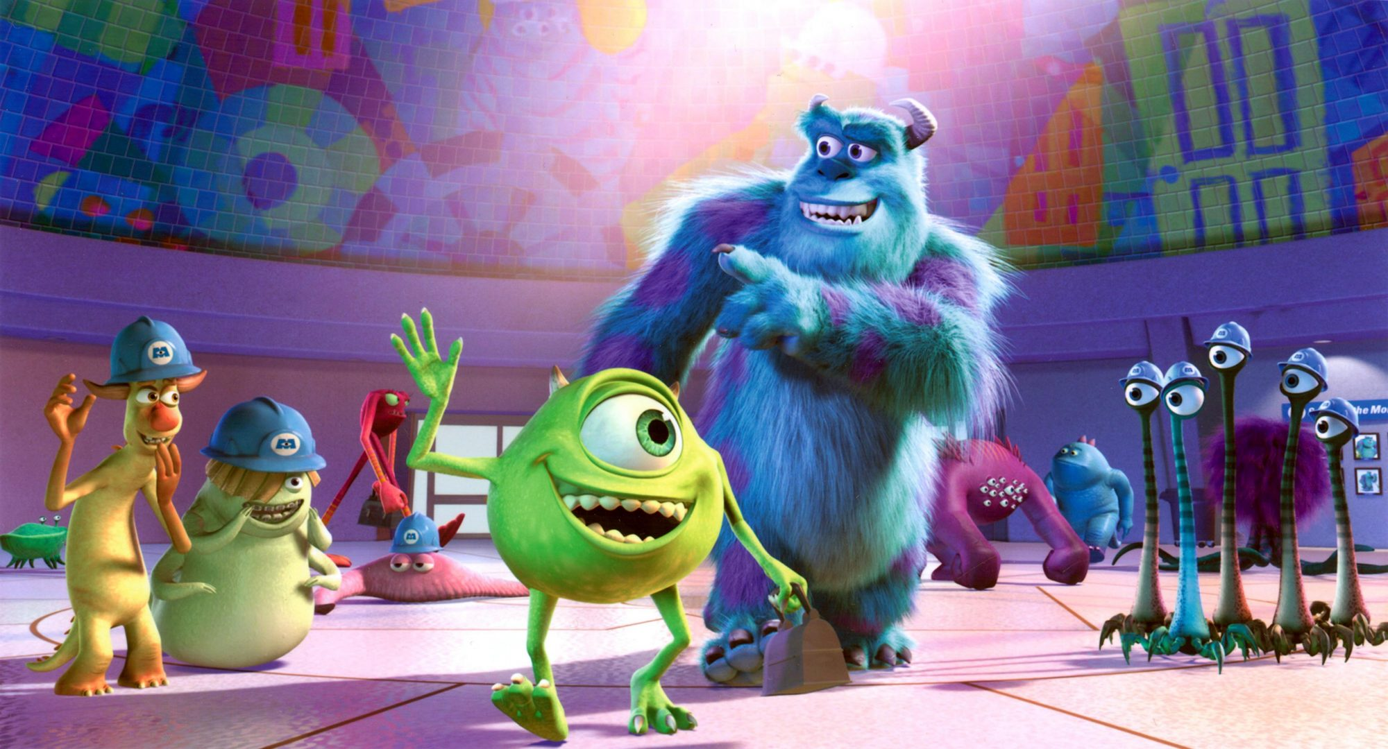 MONSTERS INC., Mike Wazowski, Sulley, 2001