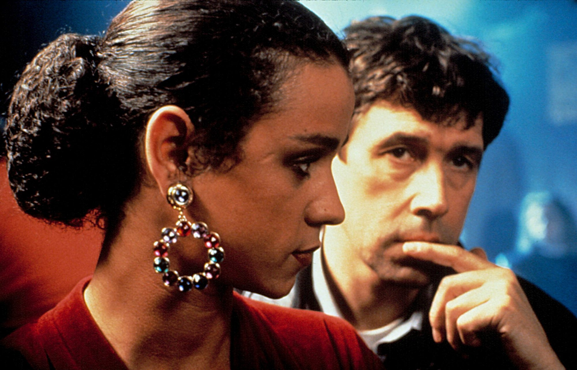 THE CRYING GAME, Jaye Davidson, Stephen Rea, 1992. ©Miramax Films/Courtesy Everett Collection