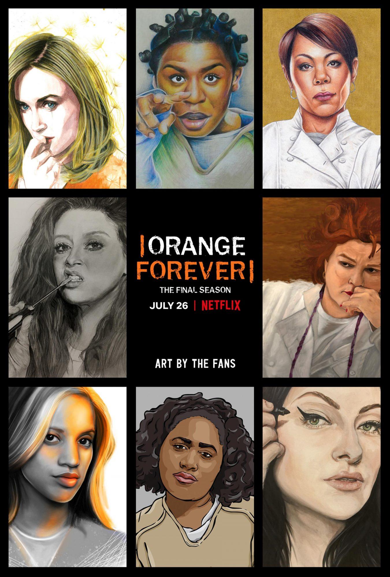 Orange Is the New Black Season 7 key art CR: Netflix