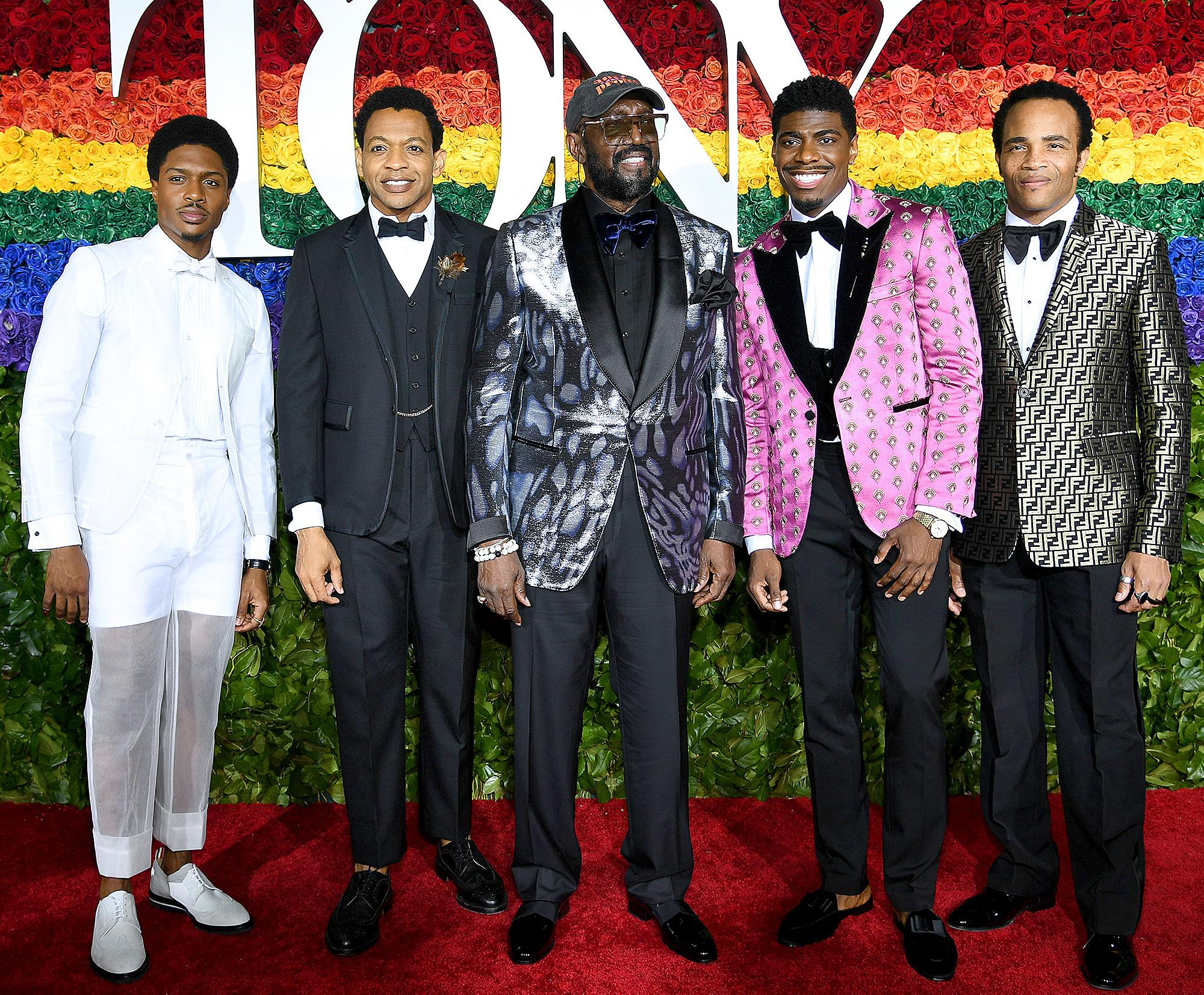 Ephraim Sykes, Derrick Baskin, Otis Williams, Jawan M. Jackson, and James Harkness