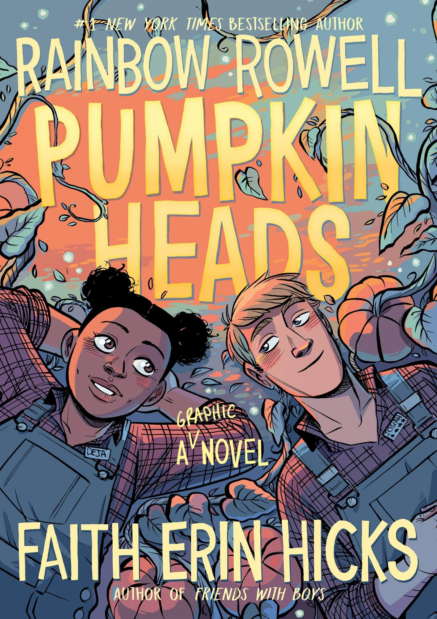Pumpkinheads, by Rainbow Rowell & Faith Erin Hicks