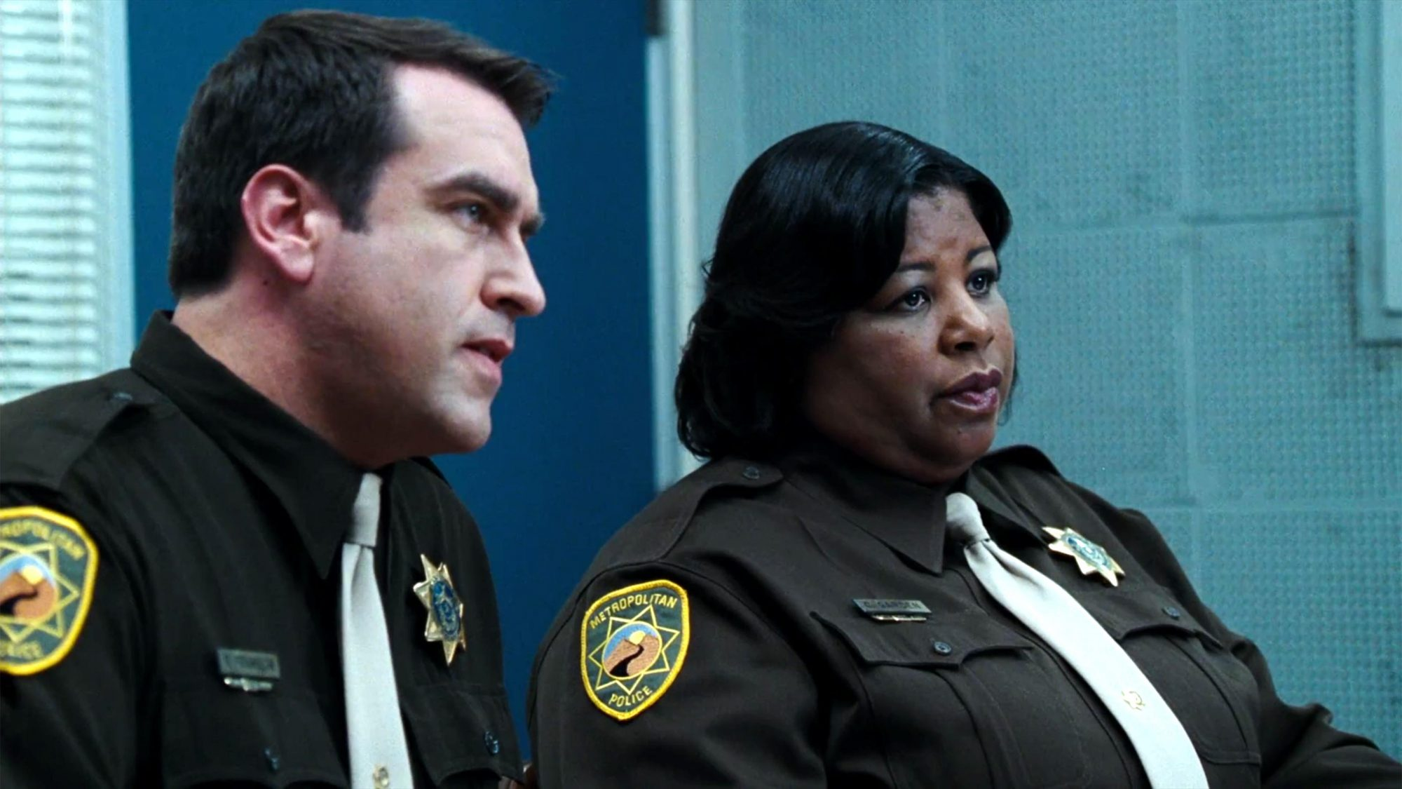 The Hangover (2009) (screen grab) Rob Riggle and Cleo King CR: Warner Bros. Pictures