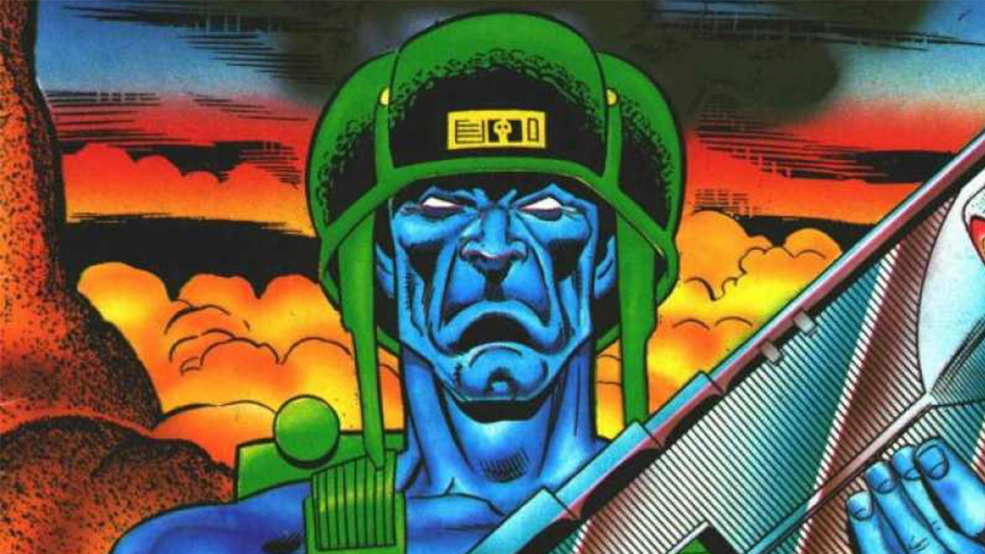 Rogue Trooper Issue Number 34 July 1, 1989 Publisher: Quality Communications