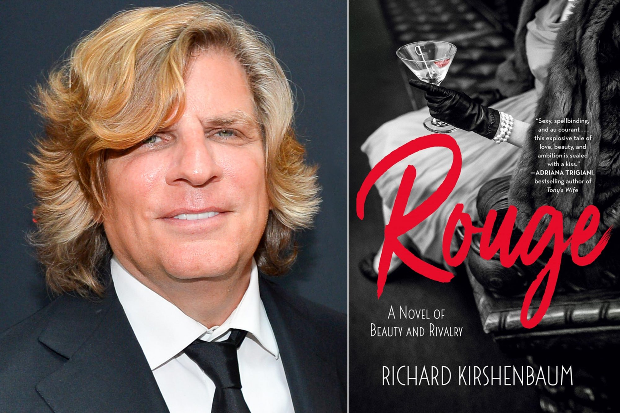 NEW YORK, NY - JUNE 05: Richard Kirshenbaum attends Richard Kirshenbaum's Book Party, ROUGE! at Pace Gallery on June 5, 2019 in New York City. (Photo by Patrick McMullan/Patrick McMullan via Getty Images) Rouge by Richard Kirshenbaum CR: St. Martin's Press