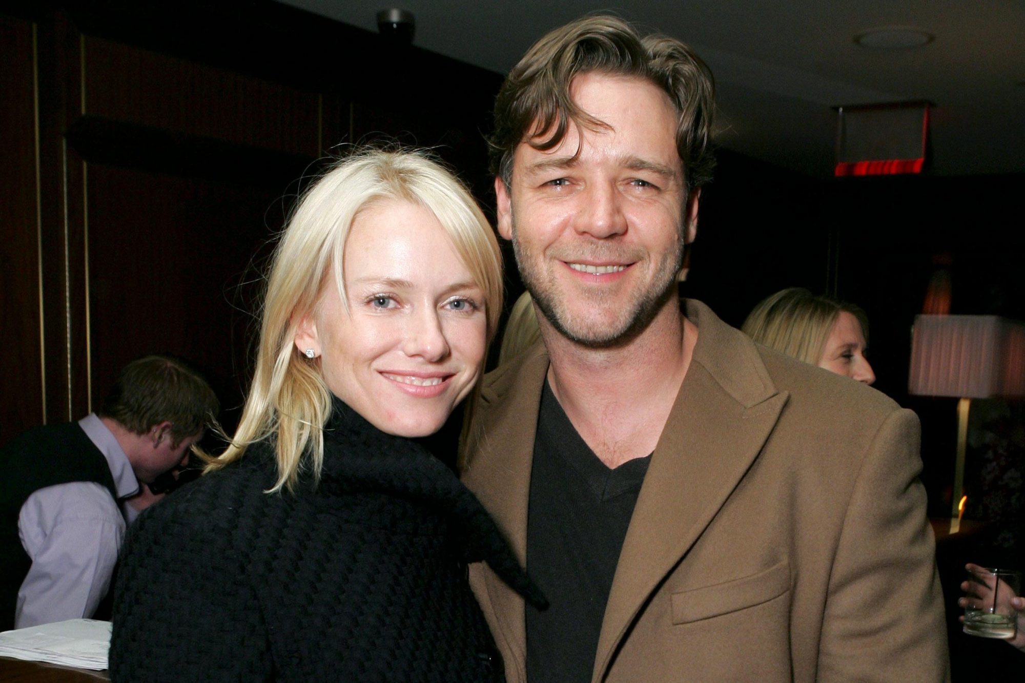 Naomi Watts and Russell Crowe