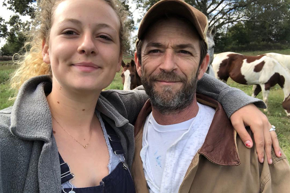 Sophie Perry, Luke Perry