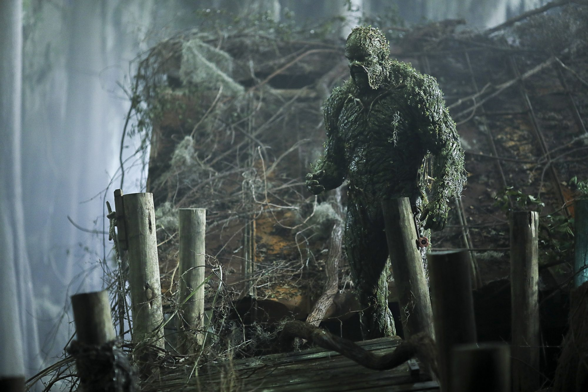 "Swamp Thing -- Ep. 102 -- ""Worlds Apart"" -- Photo Credit: Fred Norris / 2018 Warner Bros. Entertainment Inc. All Rights Reserved."