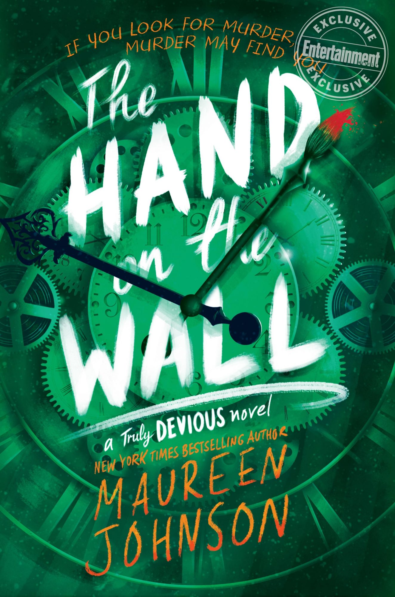 The Hand on The Wall by Maureen Johnson CR: HarperCollins Children's Publishing