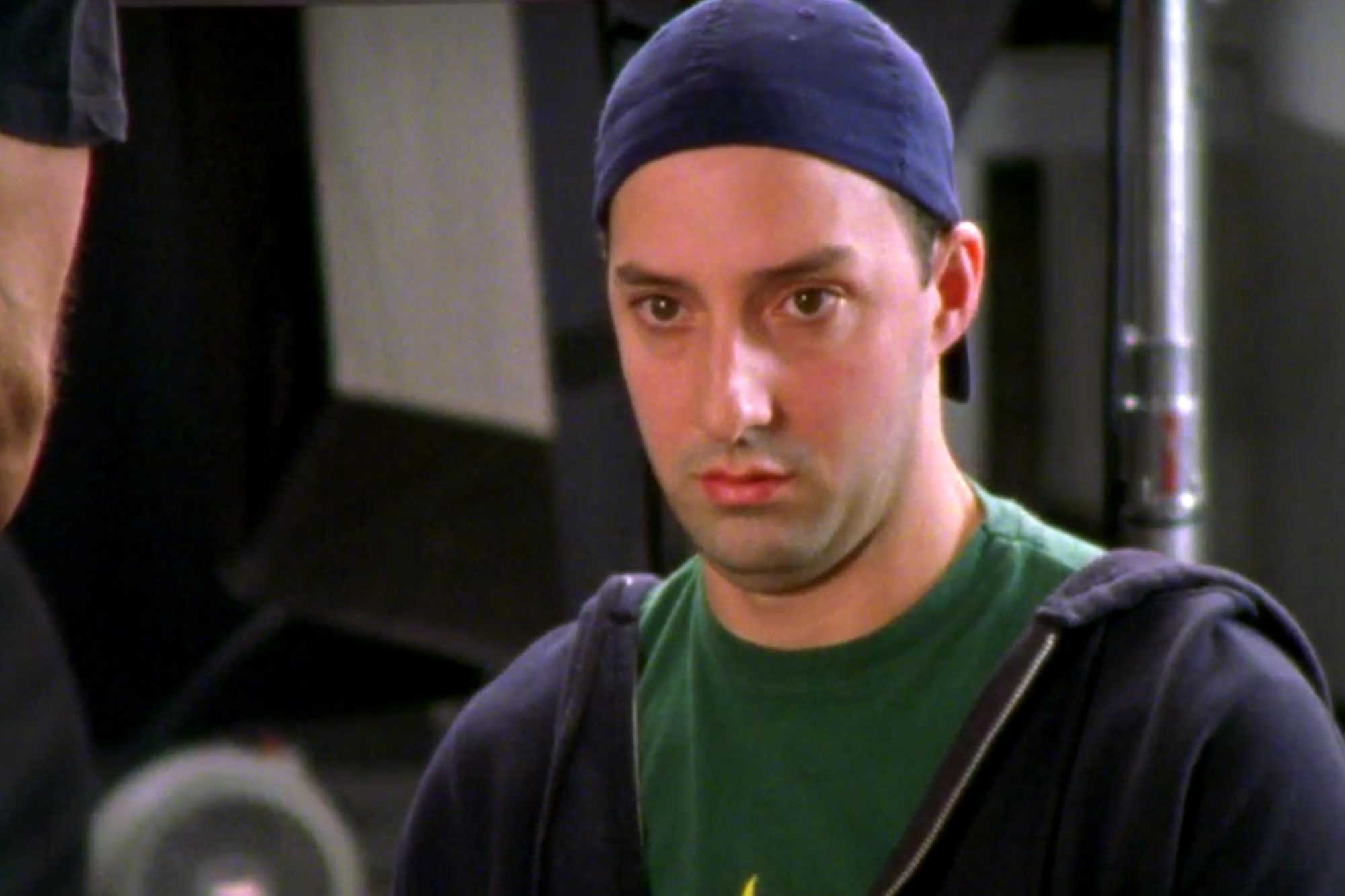 Sex and the City (screen grab) Season 4, Episode 2 Tony Hale as Tiger CR: HBO