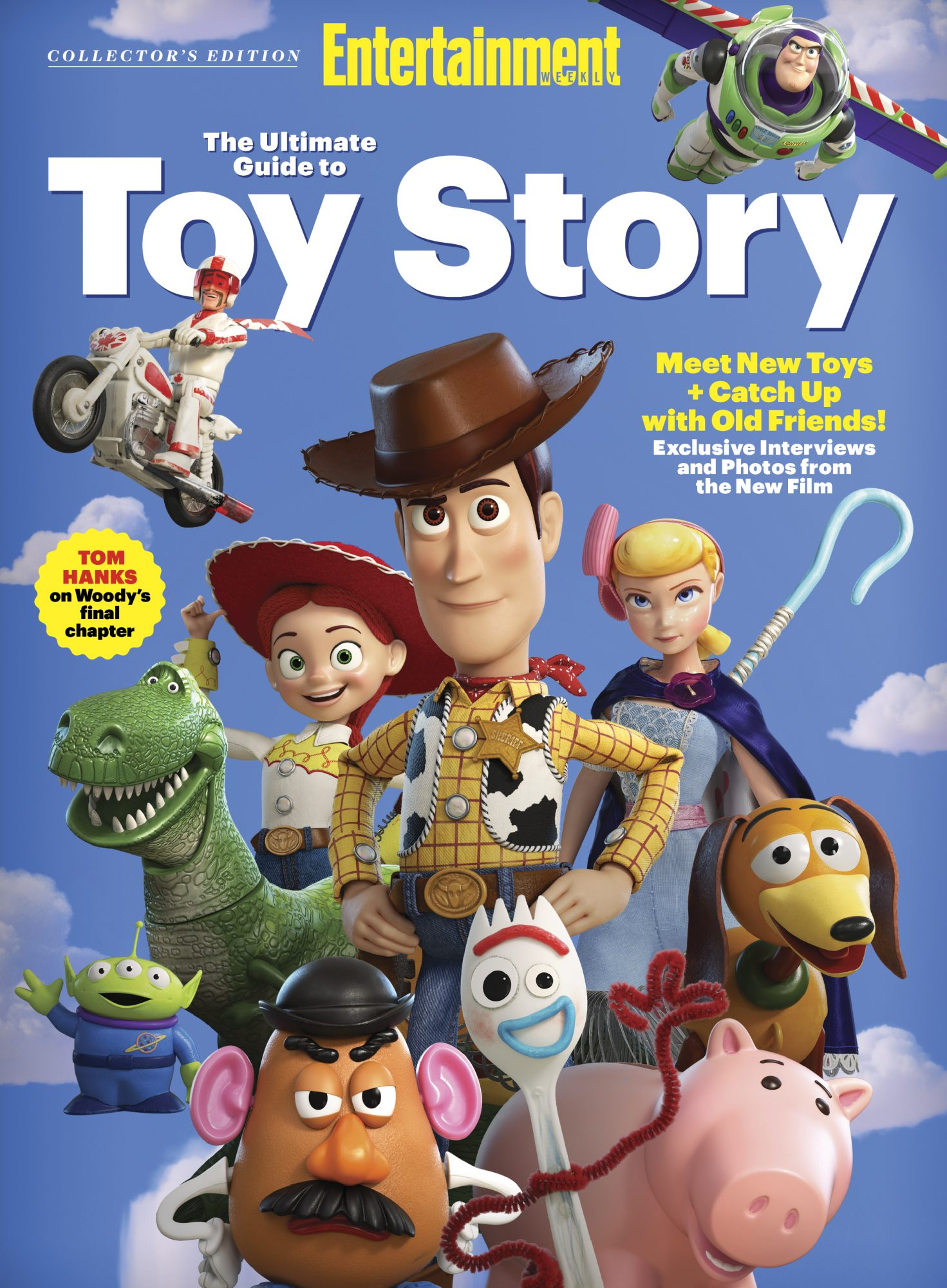 Toy Story collector's edition cover 2019