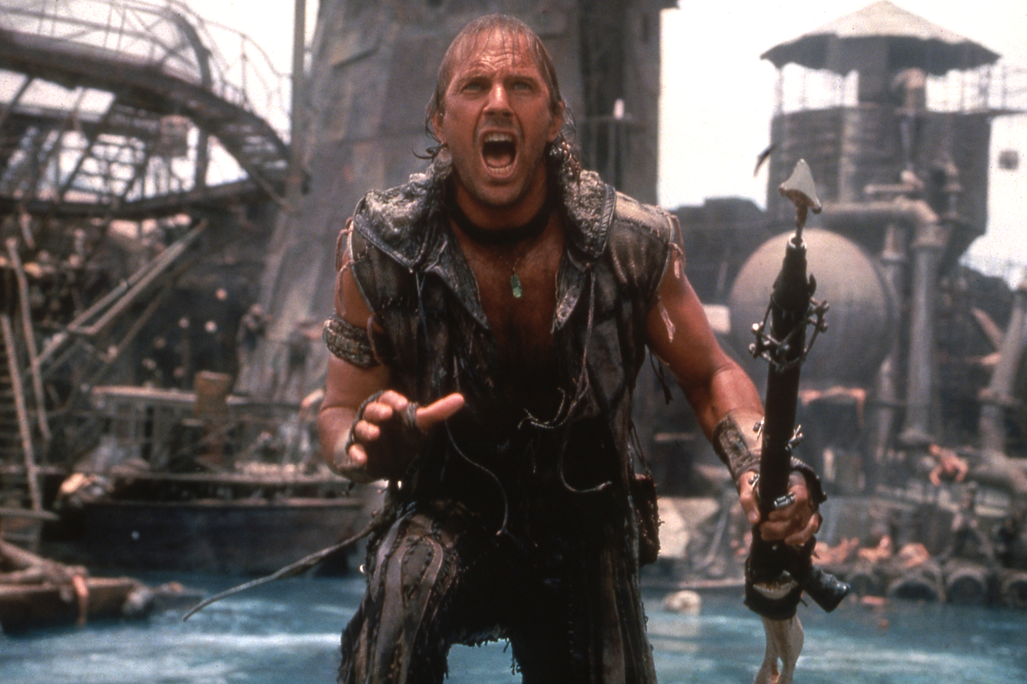 WATERWORLD, Kevin Costner, 1995.