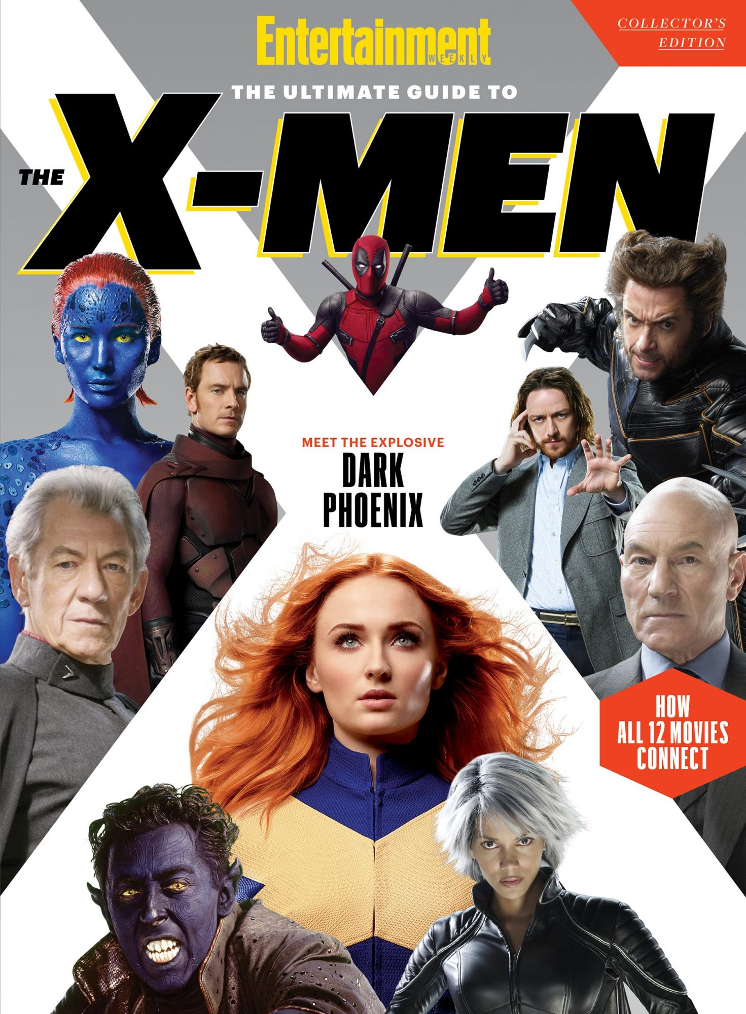 Entertainment Weekly's The Ultimate Guide to The X-Men: Collector's Edition cover CR: EW