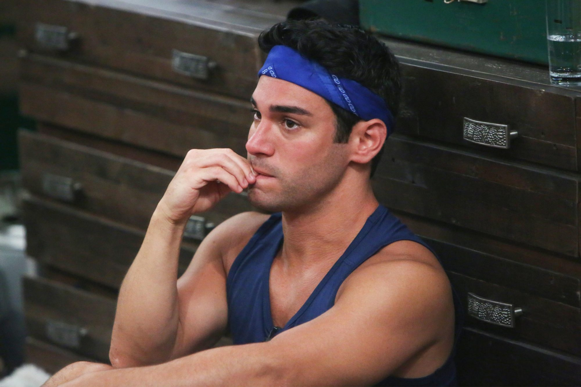 Tommy Bracco on Big Brother. BiIG BROTHER airs Wednesdays (9:00-10:00 PM, ET/PT), Thursdays, featuring the live evictions (9:00-10:00 PM, LIVE ET/Delayed PT) and Sundays (8:00-9:00 PM, ET/PT). Reserved Photo: Monty Brinton/CBS ©2018 CBS Broadcasting, Inc. All Rights Reserved