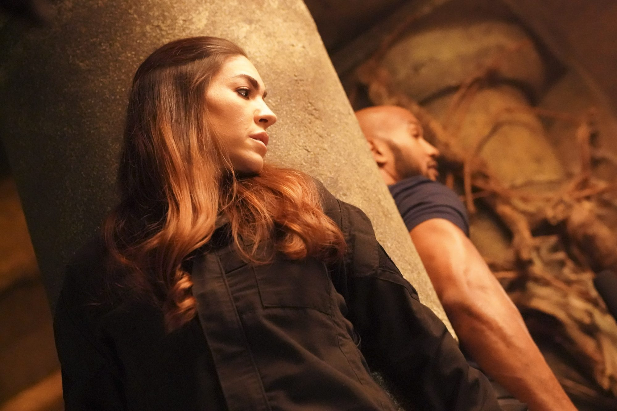 """MARVEL'S AGENTS OF S.H.I.E.L.D. - """"From the Ashes"""" - Out of answers and running out of time, the agents must face the ghosts of their past in order to move forward on """"Marvel's Agents of S.H.I.E.L.D.,"""" airing FRIDAY, JULY 26 (8:00-9:00 p.m. EDT), on ABC. (ABC/Mitch Haaseth) NATALIA CORDOVA-BUCKLEY"""