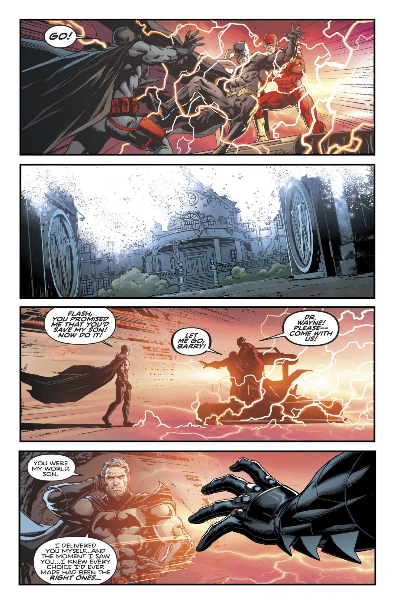 Batman comic CR: DC Comics