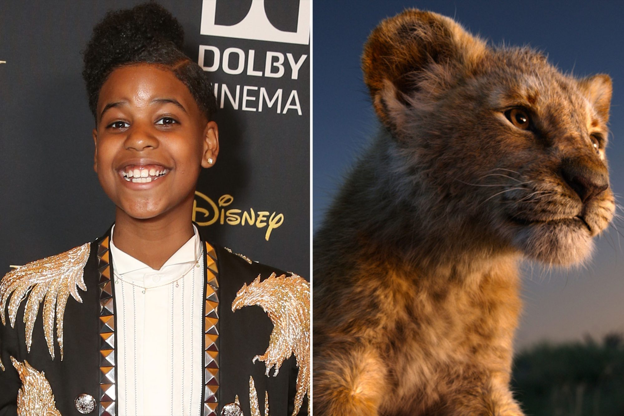JD McCrary as young Simba