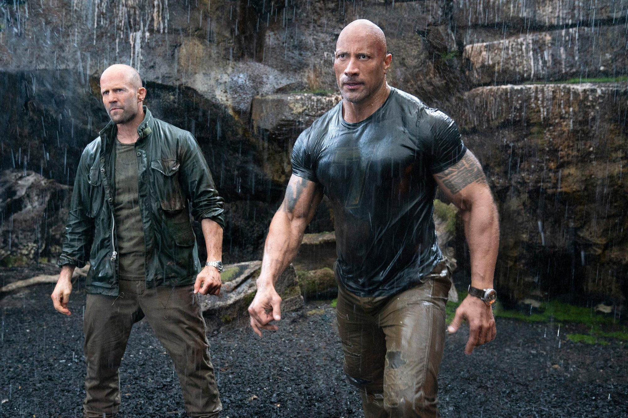 Dwayne Johnson thanks Vin Diesel for Hobbs & Shaw support | EW.com