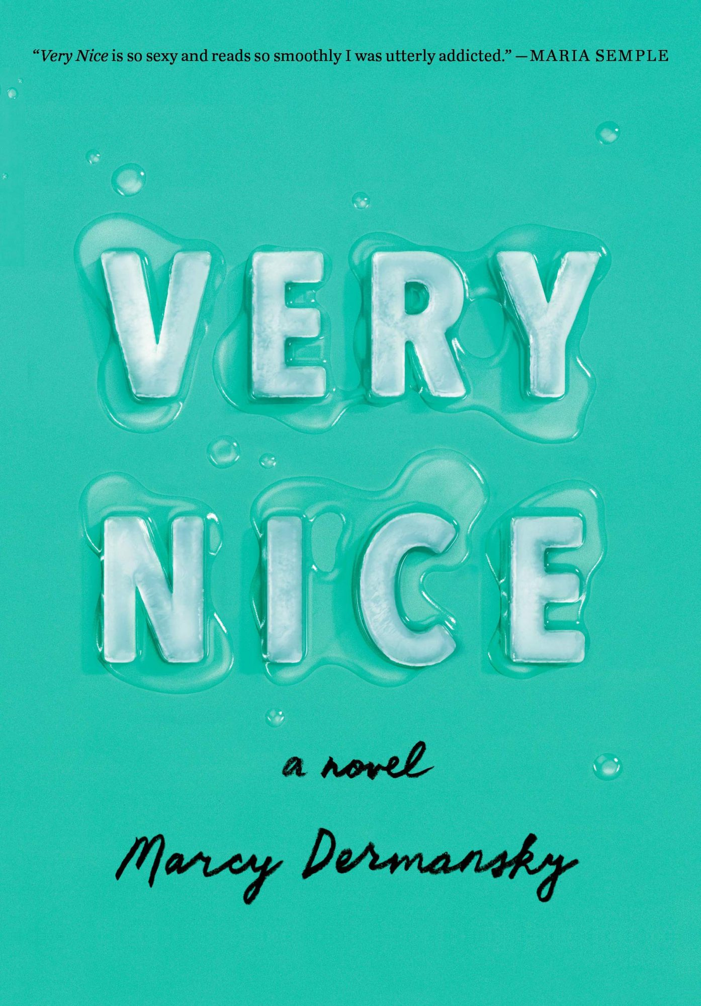 Very Nice (2019)Author: Marcy Dermansky