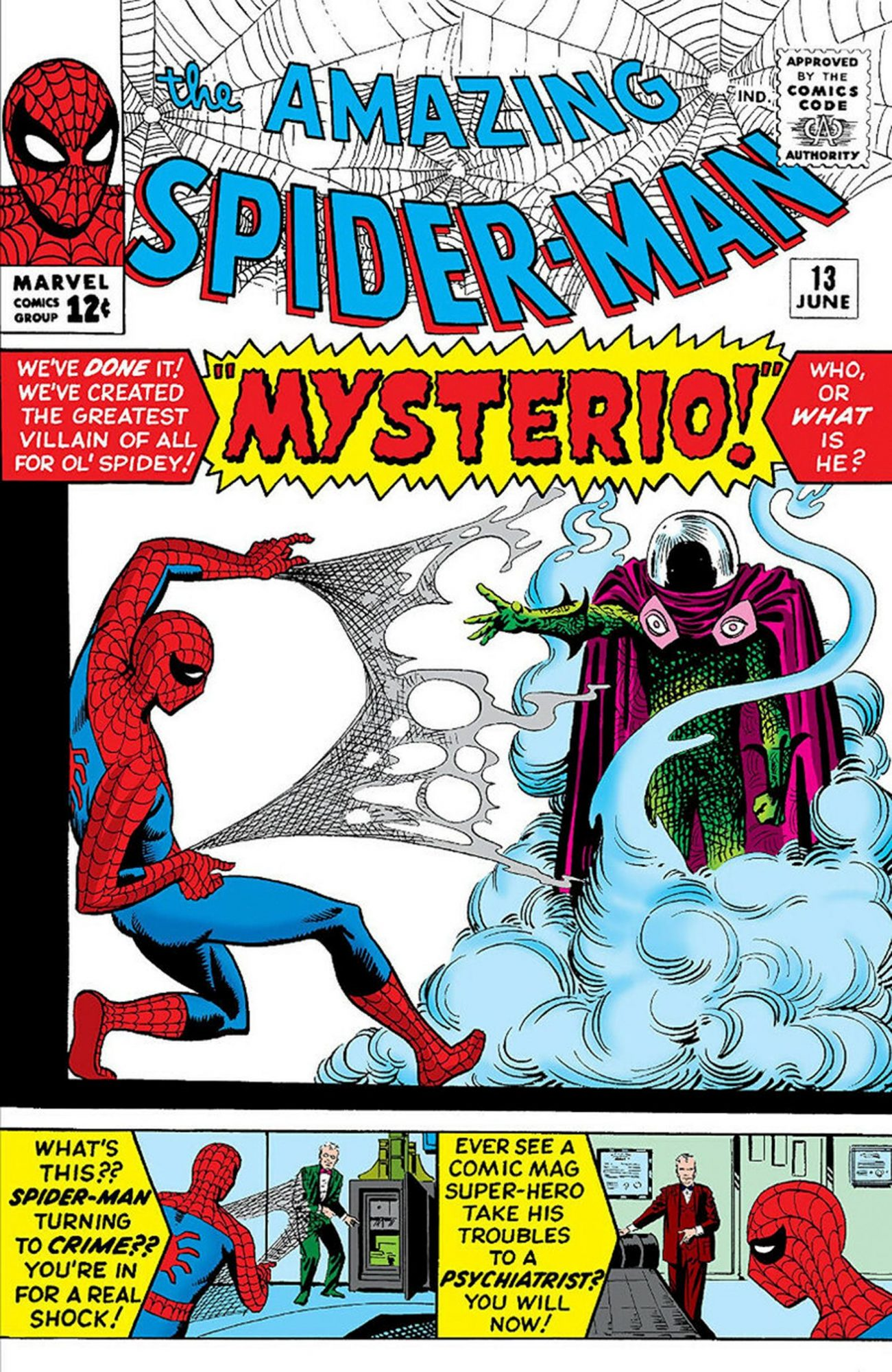 The Amazing Spider-Man (1963) #13 Published: June 10, 1964 CR: Marvel