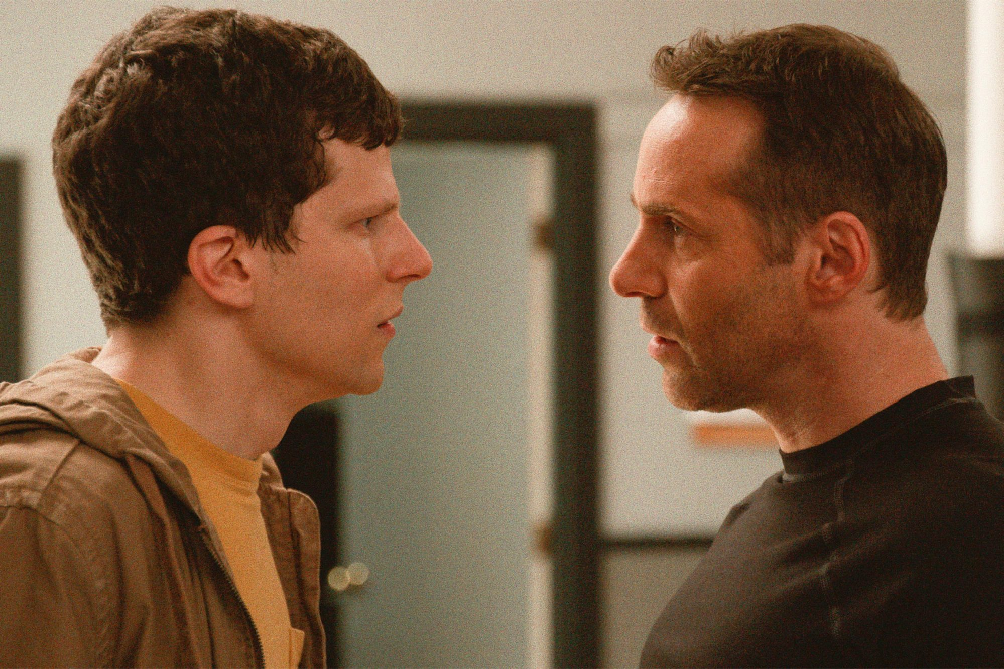 The Art of Self-Defense (2019) Jesse Eisenberg and Alessandro Nivola CR: Bleecker Street
