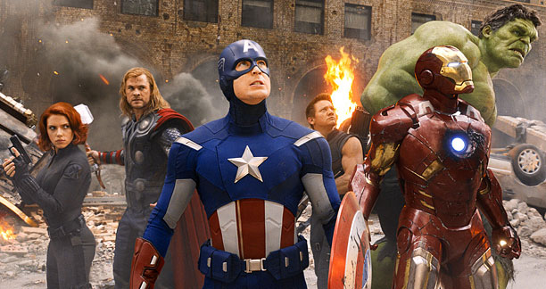 Marvel, The Avengers | Hawkeye is extraneous. The Chitauri aren't particularly compelling final-act villains. Captain America's modern-day costume is a bit janky. These and other minor quibbles all invariably…
