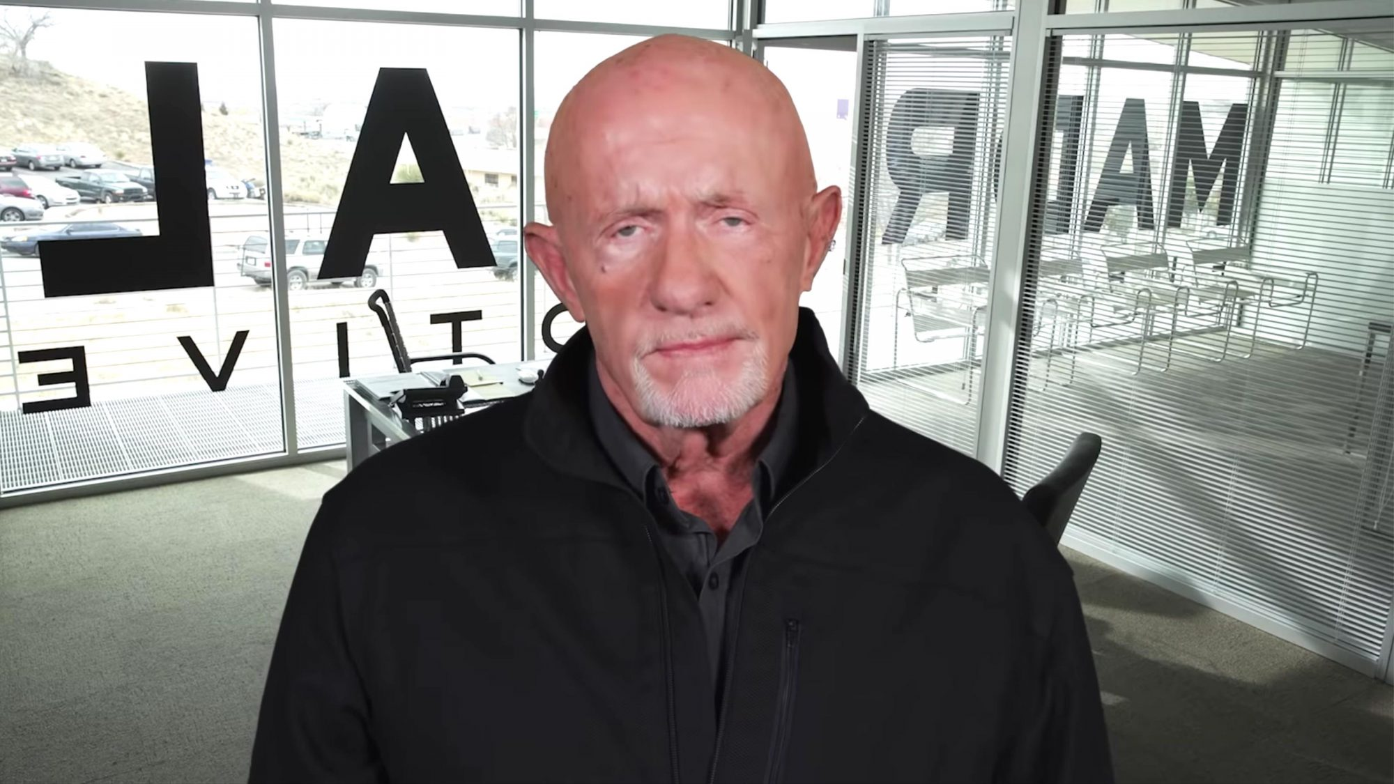 Employee Accountability: Madrigal Electromotive Security Training | Better Call Saul (screen grab) Jonathan Banks https://www.youtube.com/watch?v=0_y6OHG1EK4 CR: AMC
